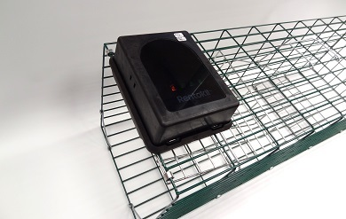 Remote Monitoring Pest Trapping Cage Ash Wireless