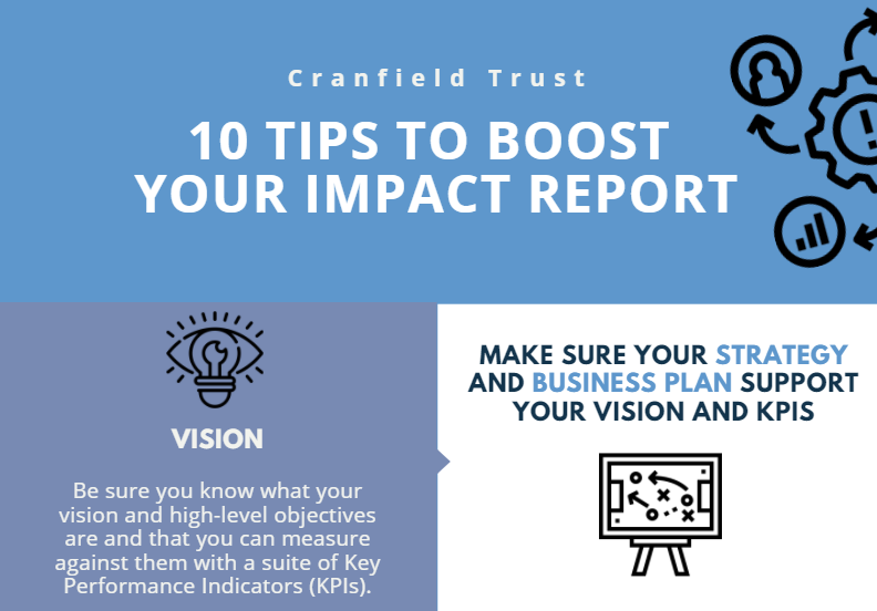 10 ways to improve your charity's impact reporting