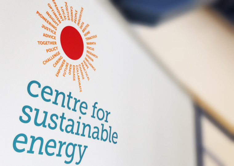 Centre For sustainable energy logo