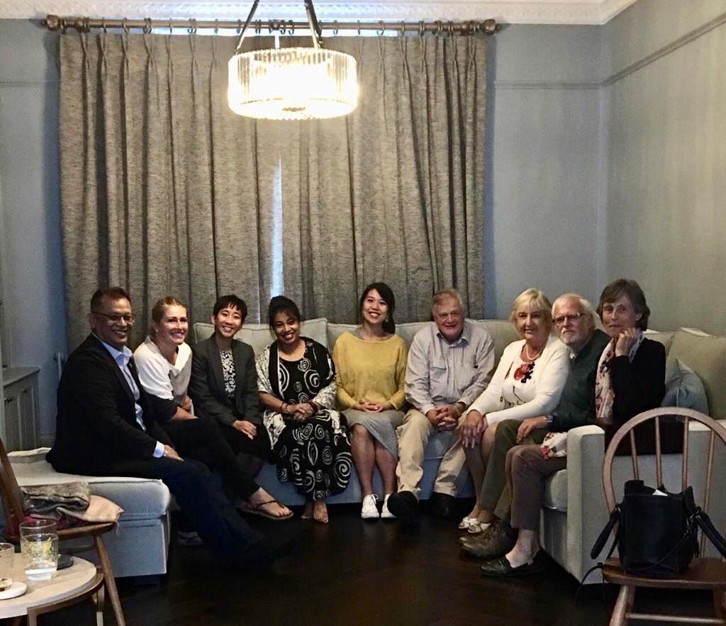 UK team with developer, Om Rajbhandary