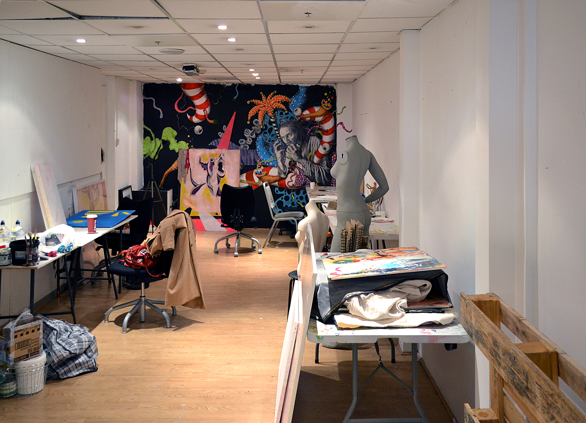 Croydon Arts Store: Affordable studio space for budding artists