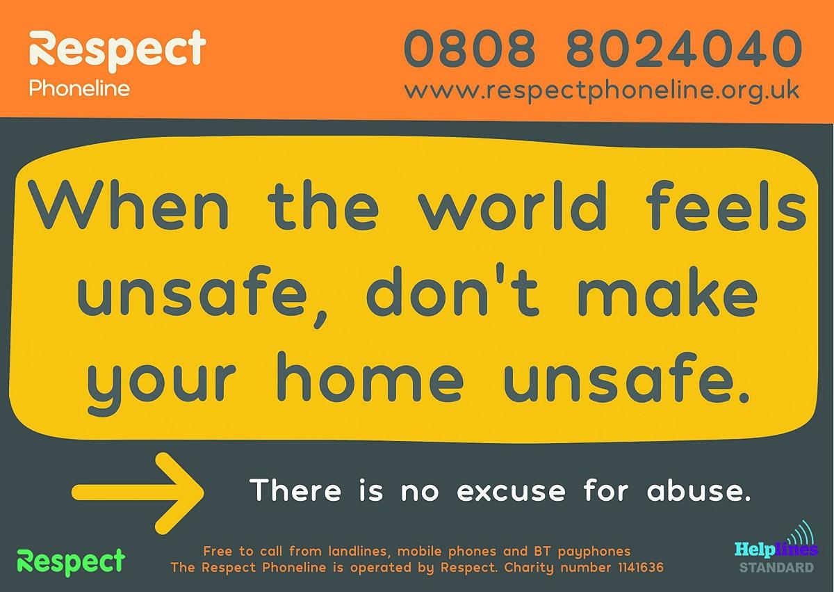 Respect Phoneline COVID19 Campaign