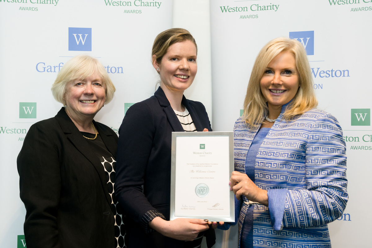 Garfield Weston charity award 2017
