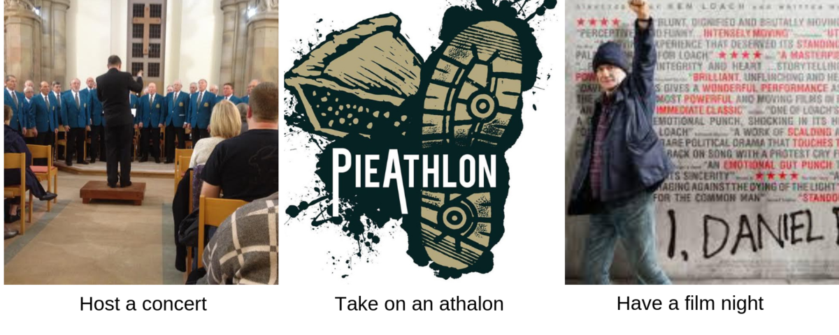 ideas for fundraising host a movie night, concert or join an athalon event