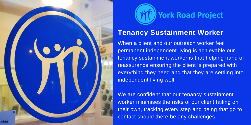 York Road Project - Tenancy Sustainment Worker