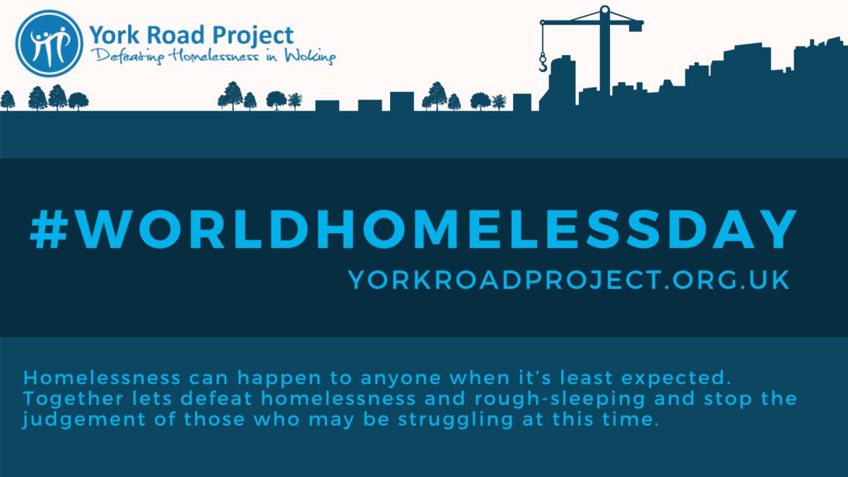 #WorldHomelessDay York Road Project