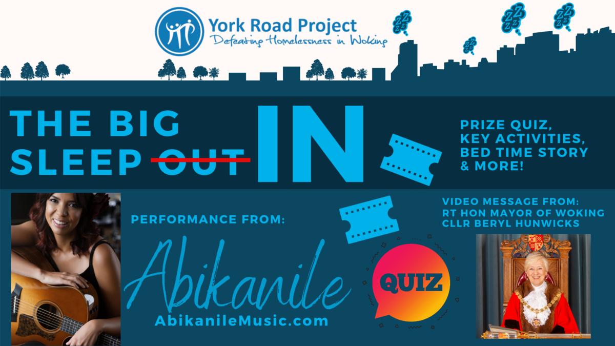 Big Sleep In - Abikanile & Mayor of Woking