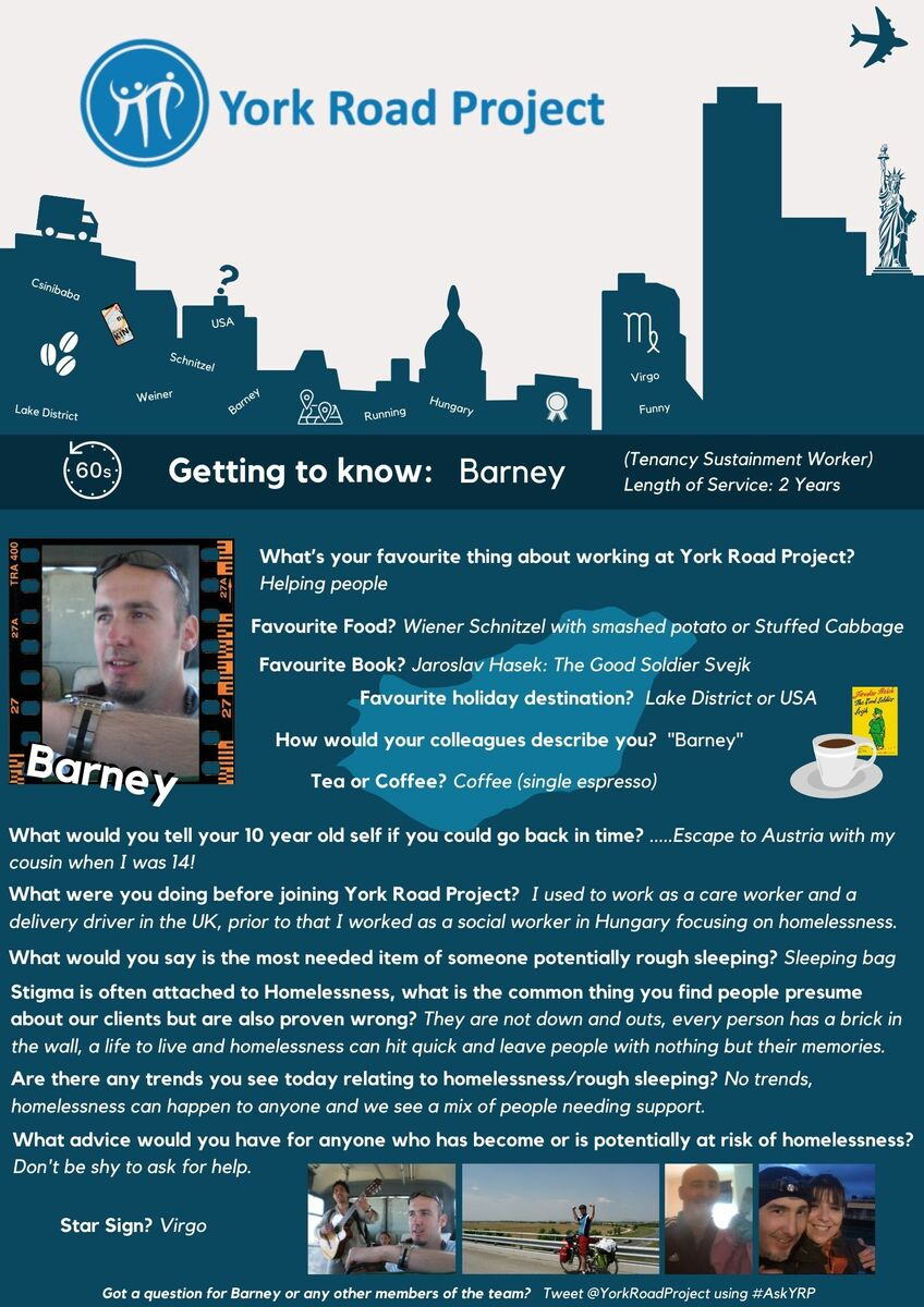 Getting to know Barney at YRP