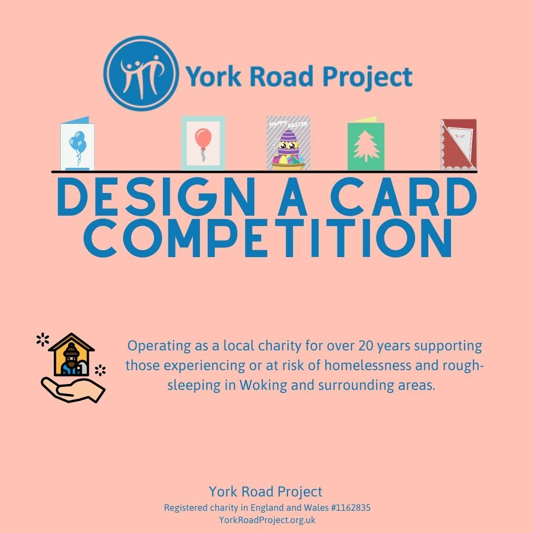 Design a greetings card for our charity