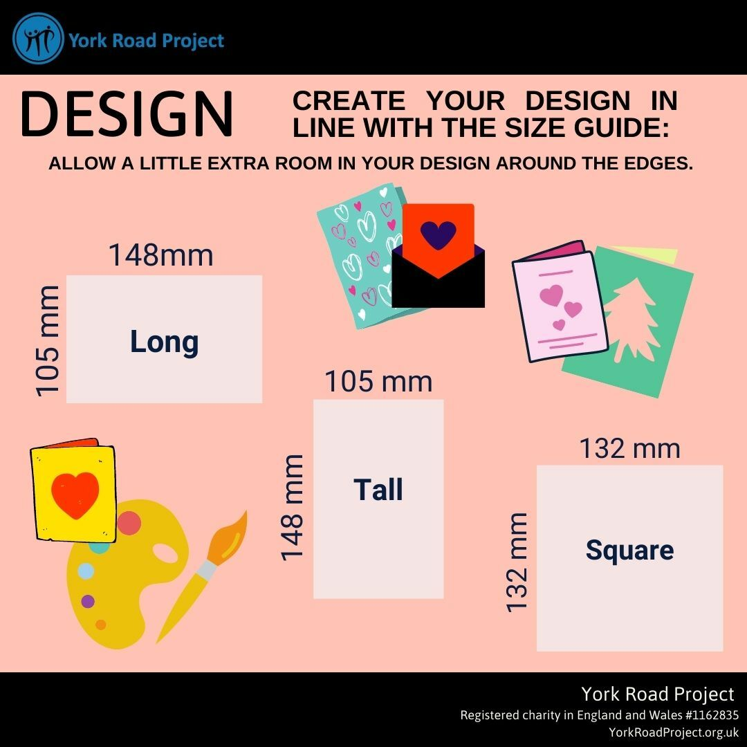 Card dimensions for York Road project competition