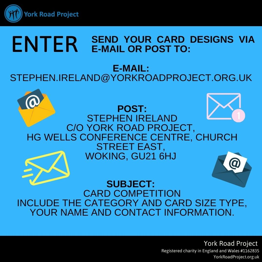 enter our design a card charity competition
